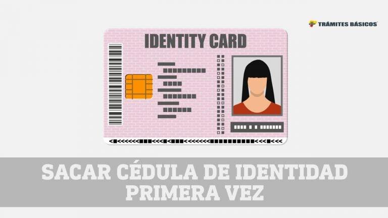 Sacar la cédula de identidad por primera vez Ecuador