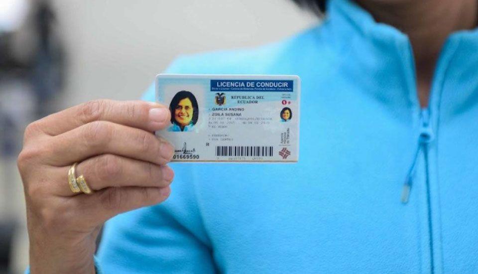 licencia de conducir Tipo B