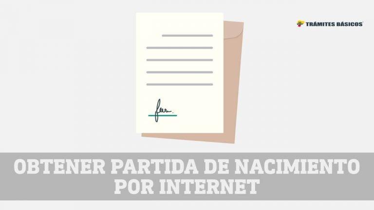 partida de nacimiento ecuador internet
