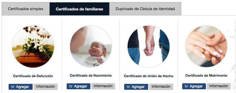 sacar partida de nacimiento para hijos y otros familiares