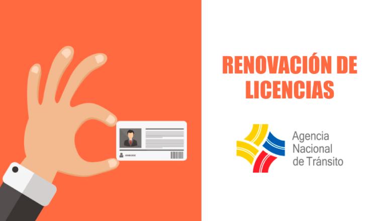 renovar licencias de conducir
