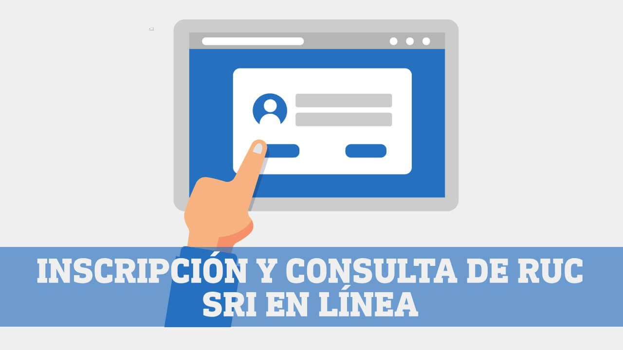Inscripcion y consulta de RUC SRI en linea