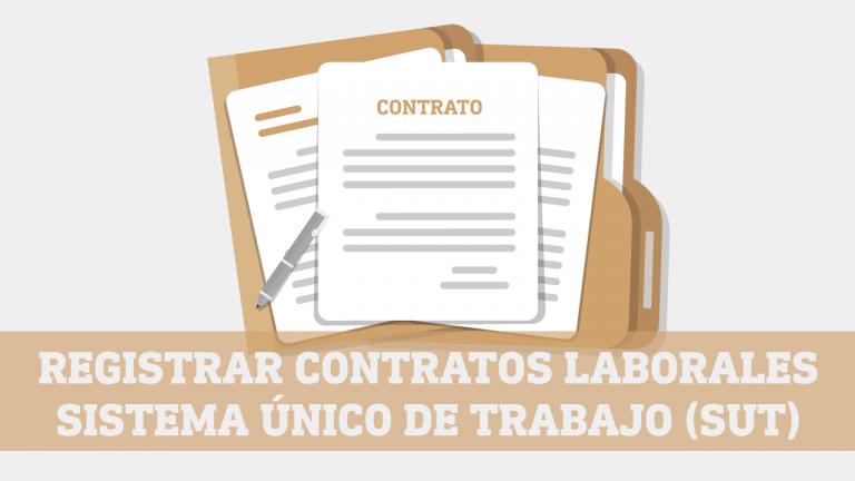 Registrar Contratos Laborales en linea en el SUT Ministerio de Trabajo