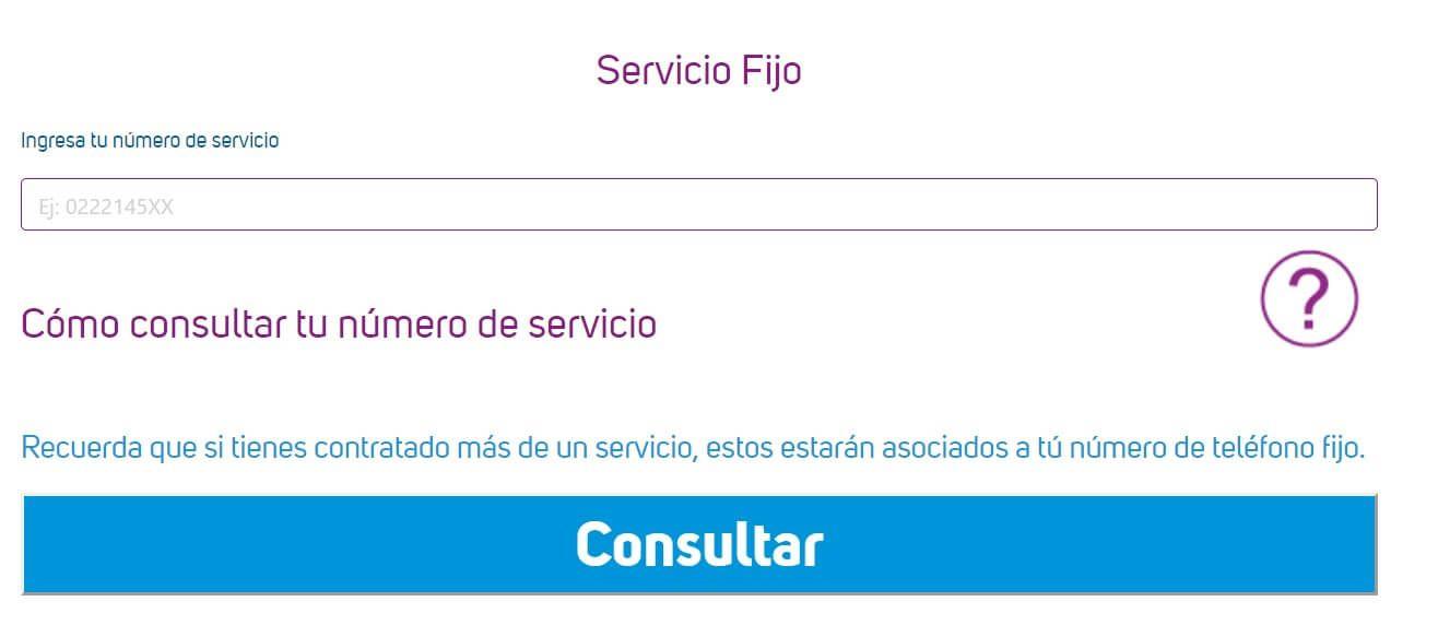 Consultar planilla telefonica fija CNT