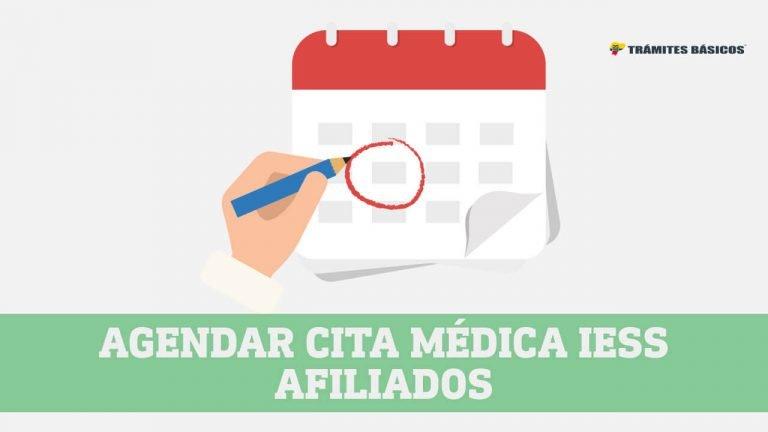 citas medicas IESS para afiliados