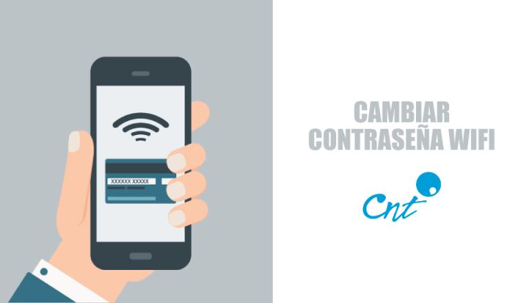 contraseña del wifi CNT