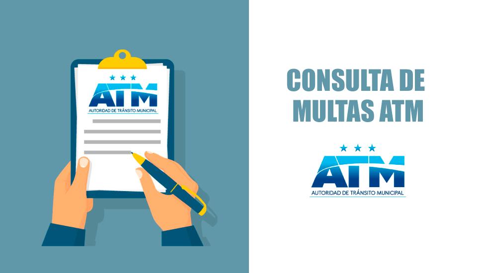 Multas ATM: Consulta de infracciones Autoridad de Tránsito Municipal