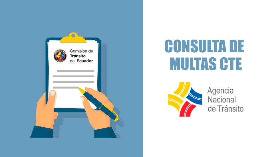 Multas CTE: Consulta de citaciones Comisión de Tránsito Ecuador 2019