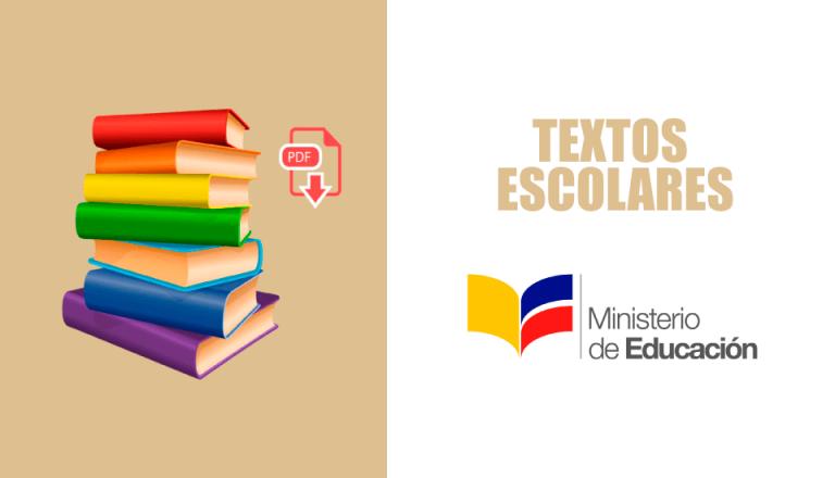 libros del ministerio de educación