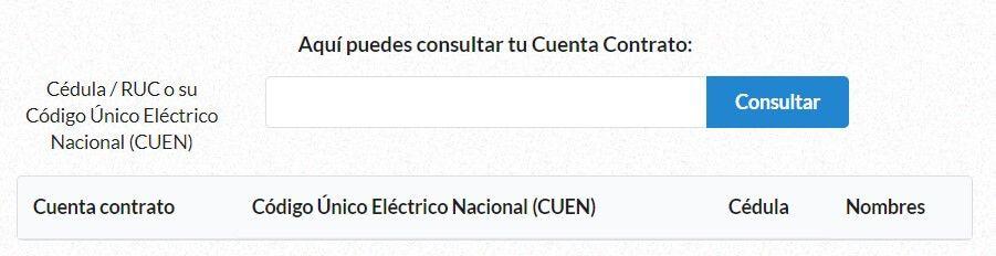 Consultar planilla de luz CNEL en guayaquil