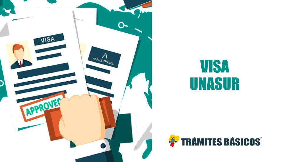 Cómo tramitar la Visa Unasur en Ecuador (Visa Temporal 2019)