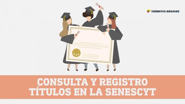 consulta y registro títulos senescyt