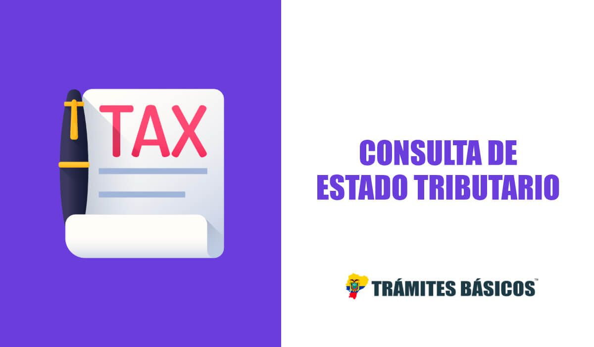 Consulta de estado tributario SRI