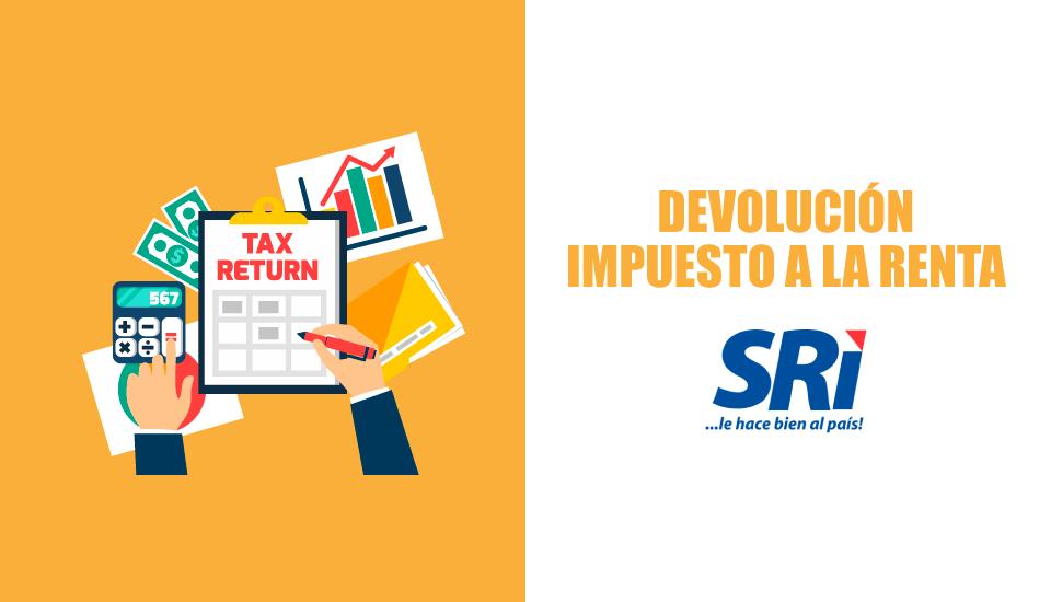 Solicitud de Devolución del Impuesto a la Renta por Internet | SRI 2019