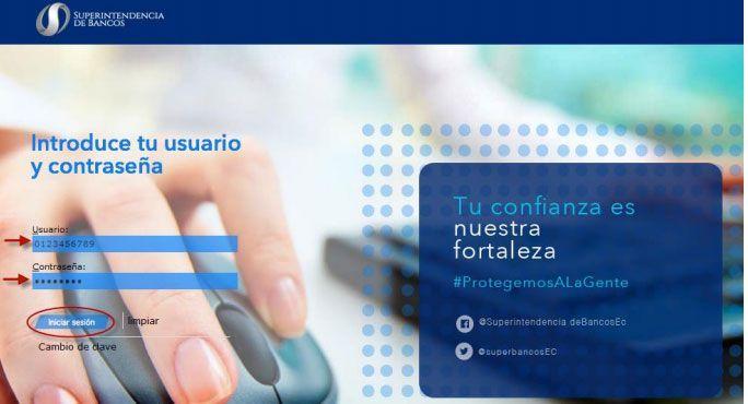ingreso reporte historial crediticio