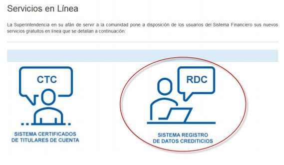 sistema Registro Datos Crediticios