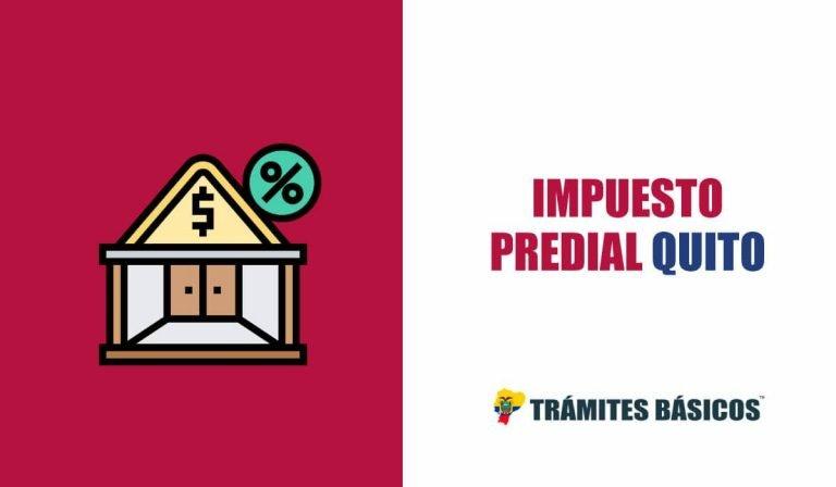 Consulta Impuesto Predial Quito