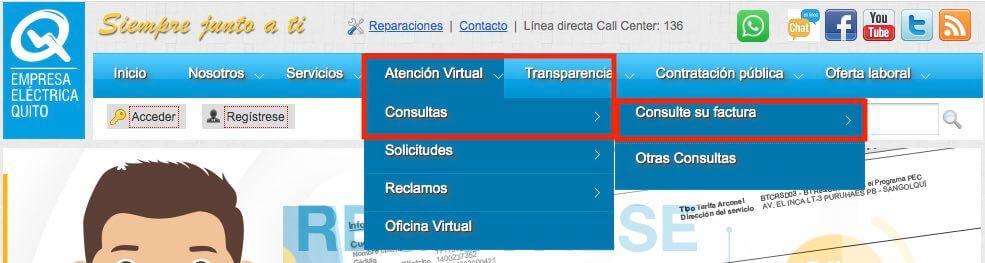 Empresa eléctrica Quito EEQ