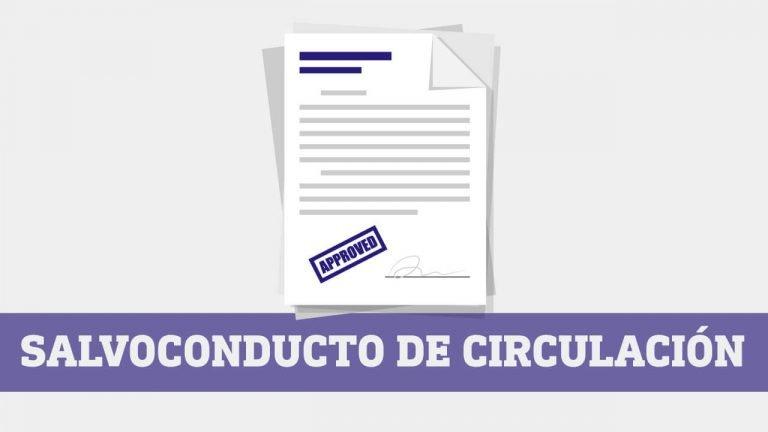 Salvoconducto de circulacion vehicular Ecuador