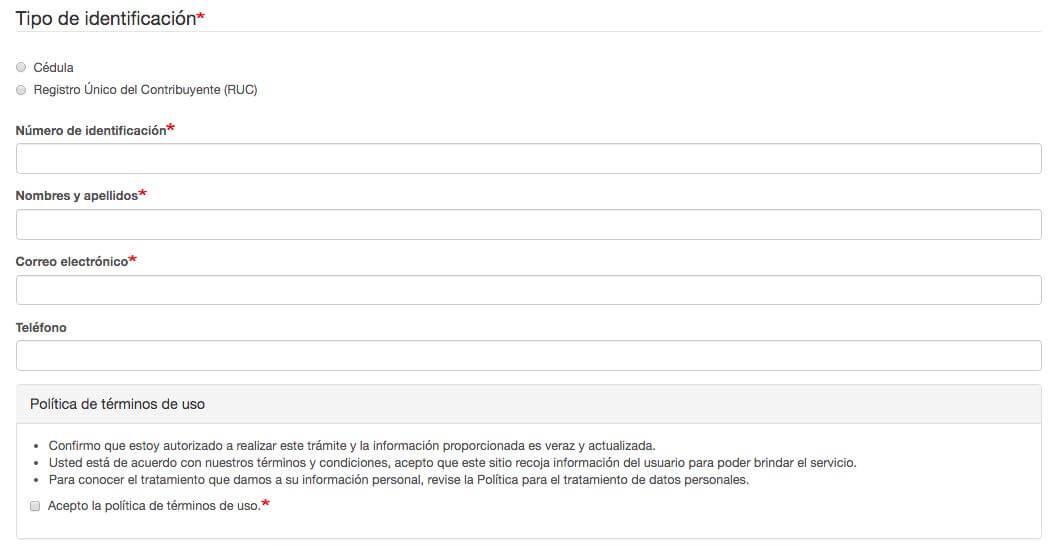 formulario de solicitud de salvoconducto de circulacion