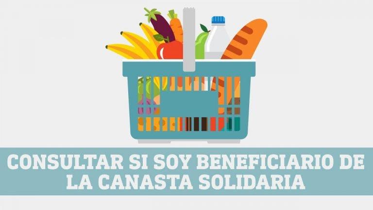 Canasta solidaria Ecuador plan alimenticio