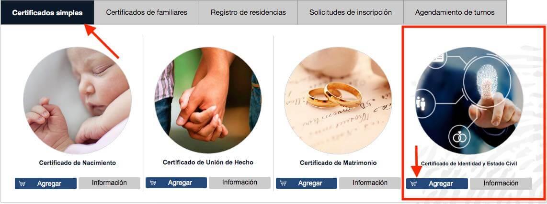 Certificado de Identidad de la Agencia Virtual del SRI