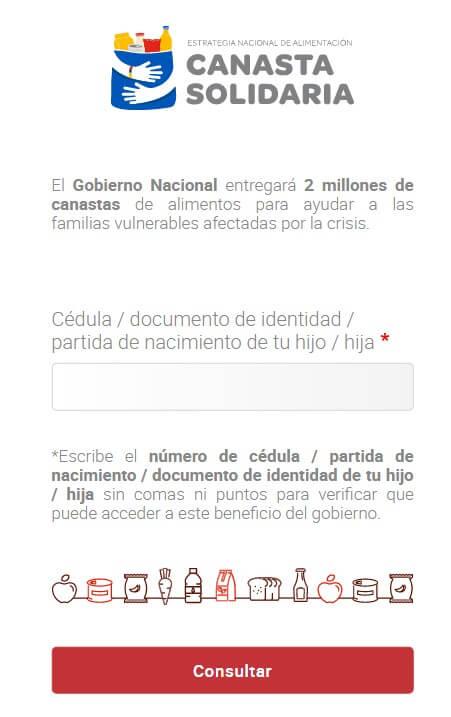 Canasta Solidaria Ecuador