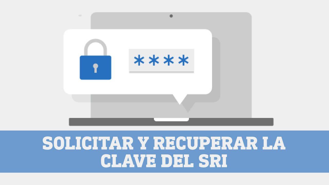 Solicitar y recuperar la clave SRI Ecuador