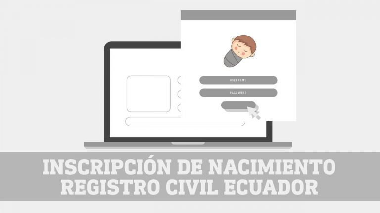 Inscripcion de nacimiento Registro Civil