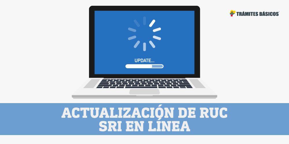 Actualizar el RUC en linea SRI Ecuador