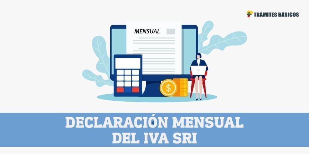 Declaracion mensual del IVA SRI