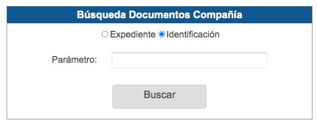 Busqueda documentos compania