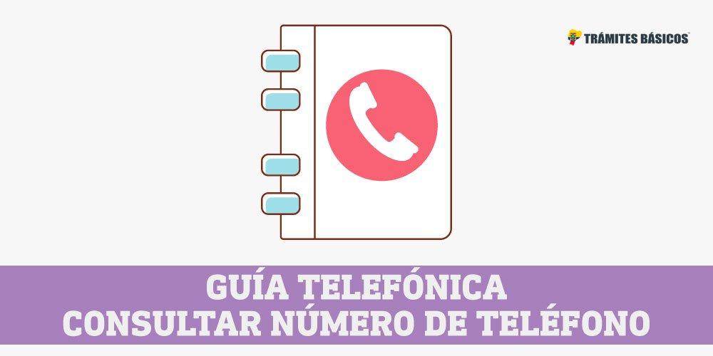 guia telefonica CNT consultar numero de telefono